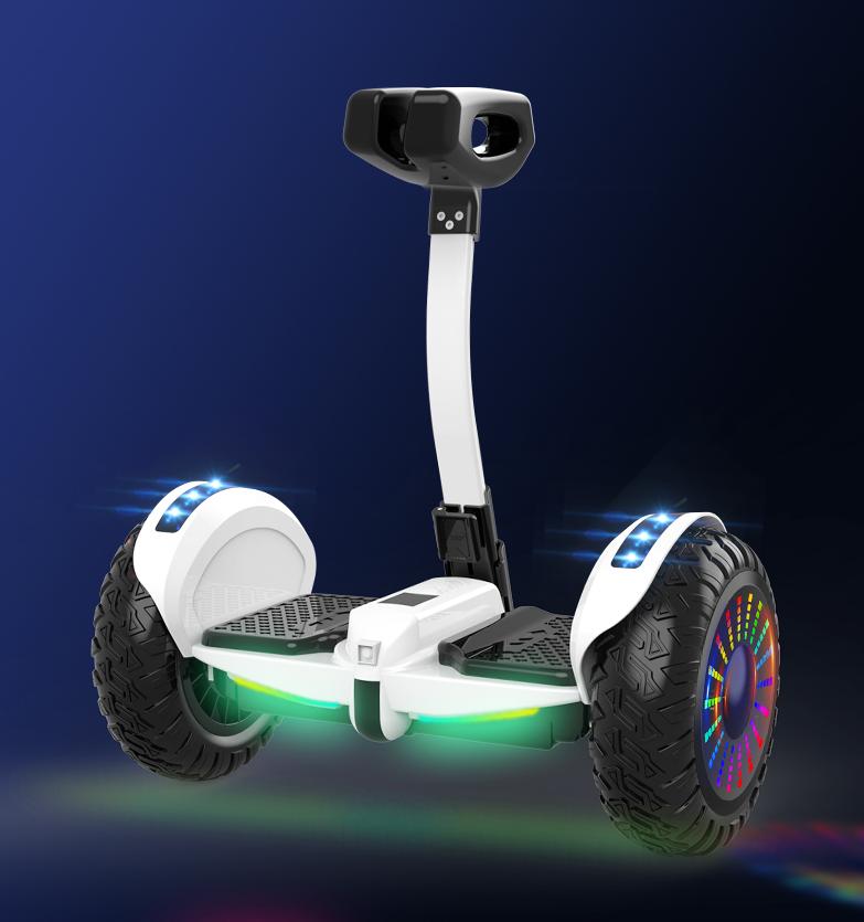 Xe điện cân bằng siêu cấp - 2 tay điều khiển và chân kẹp - Phát nhạc Bluetooth 7