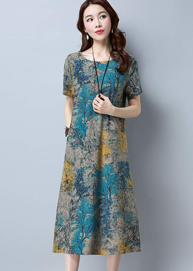 Đầm nữ dáng dài Haint Boutique 145 4