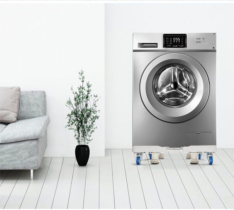Brateck washing machine base refrigerator base pad high bracket drum washing machine bracket vertical air conditioning mobile shelf universal Haier Little Swan TCL Siemens beauty W3