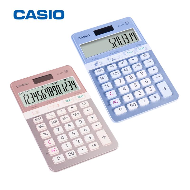 Máy Tính Casio JS-40B Cao Cấp Màu Sắc Sang Trọng   MyPhamTONA.com