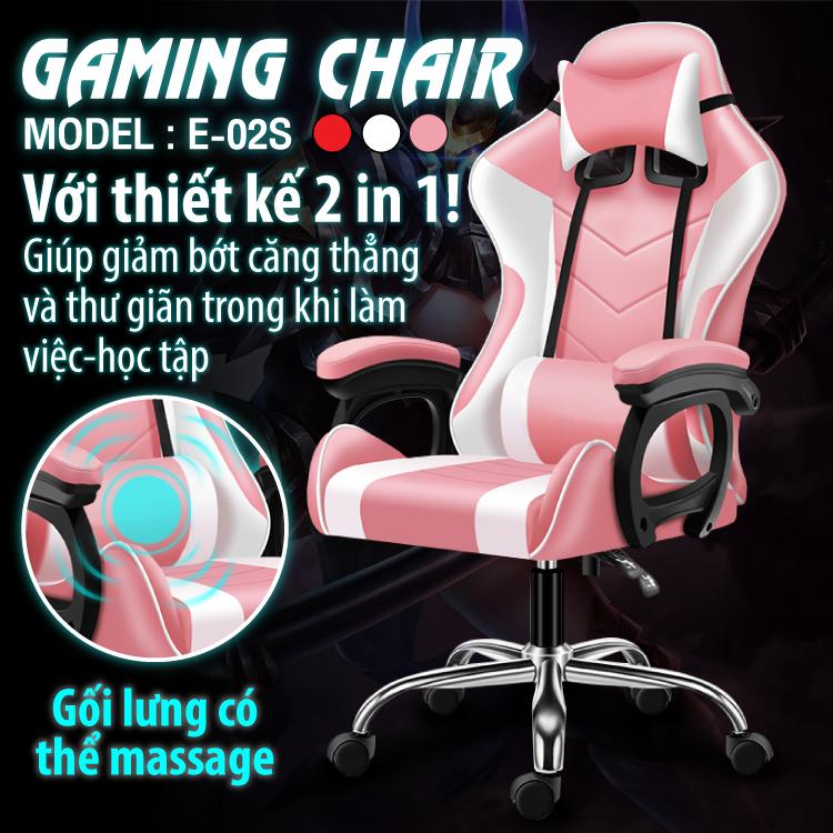 Ghế gaming cao cấp dành cho game thủ BG model mới E02-S (hàng nhập khẩu) 3