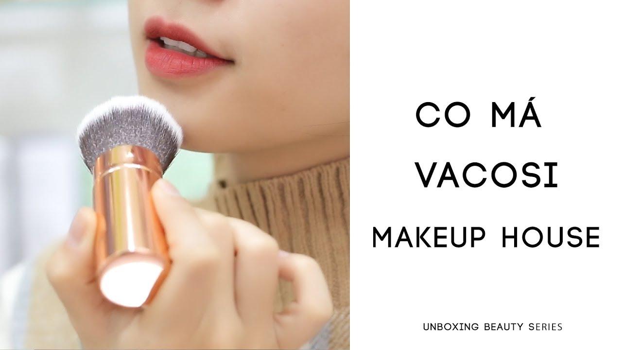 Cọ phủ dạng vặn có nắp Vacosi Pro-makeup M10 2