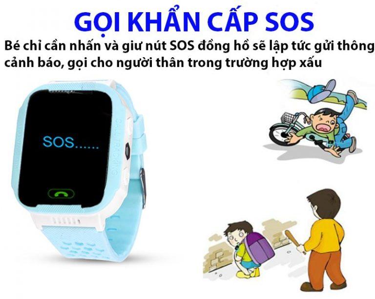đồng hồ thông minh định vị gps