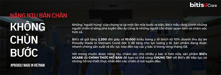 Giày Thể Thao Nam Biti's Ucare - The shoe  that care - Giày chuyên dụng y tế