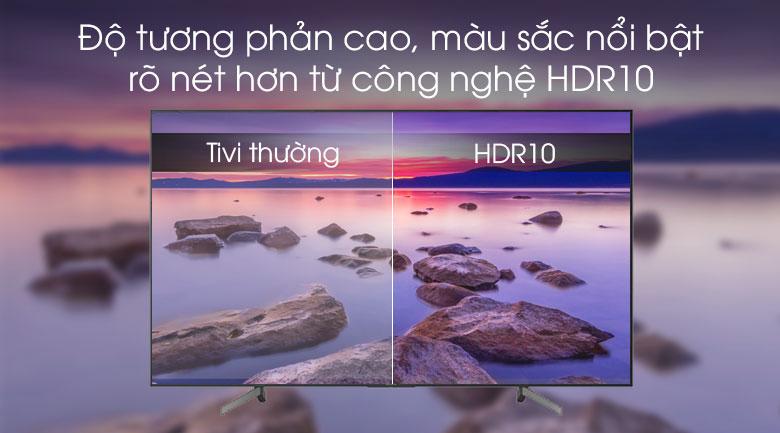 Smart Tivi Sony 4K 65 inch KD-65X7000G VN3   - Hàng chính hãng