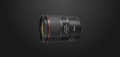 Canon EF 35mm f / 1.4L II USM wide-angle fixed focus lens