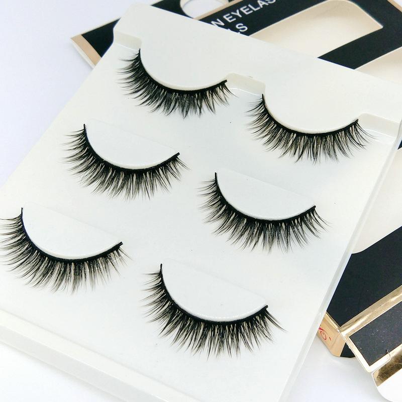 Lông mi giả lông chồn 3 Fashion Eyelashes 3 Faux-Cils 3D 1 bộ 3 cặp 83