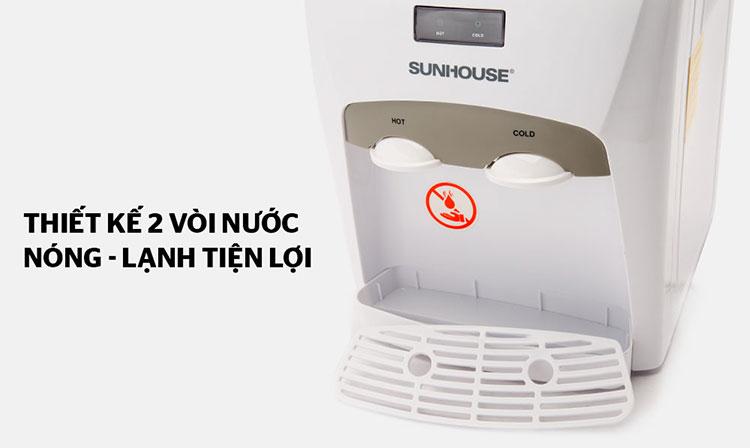 Cây Nước Nóng Lạnh Sunhouse SHD9601 - Hàng chính hãng