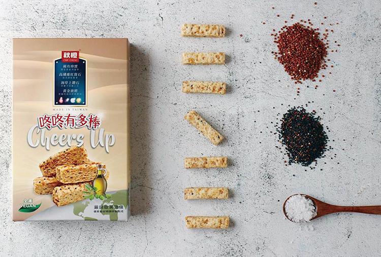 Bánh Snack Làm Từ Hạt Diêm Mạch Dong Dong ChiuCheng