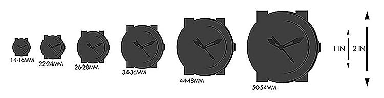 Đồng Hồ Nam Nữ Dây Kim Loại Fossil FS5187SET - Trắng (41mm-36mm)