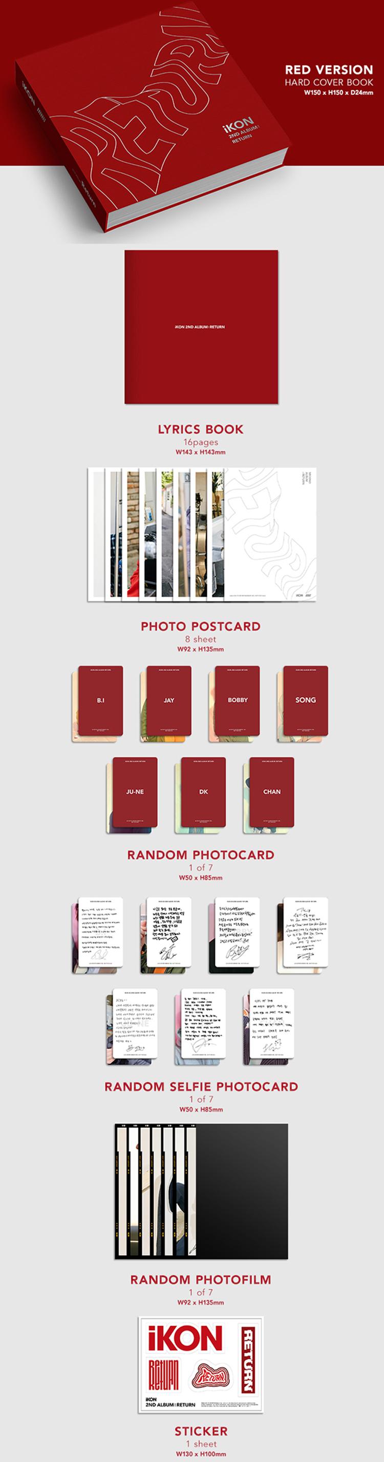 iKON 2nd Album : Return