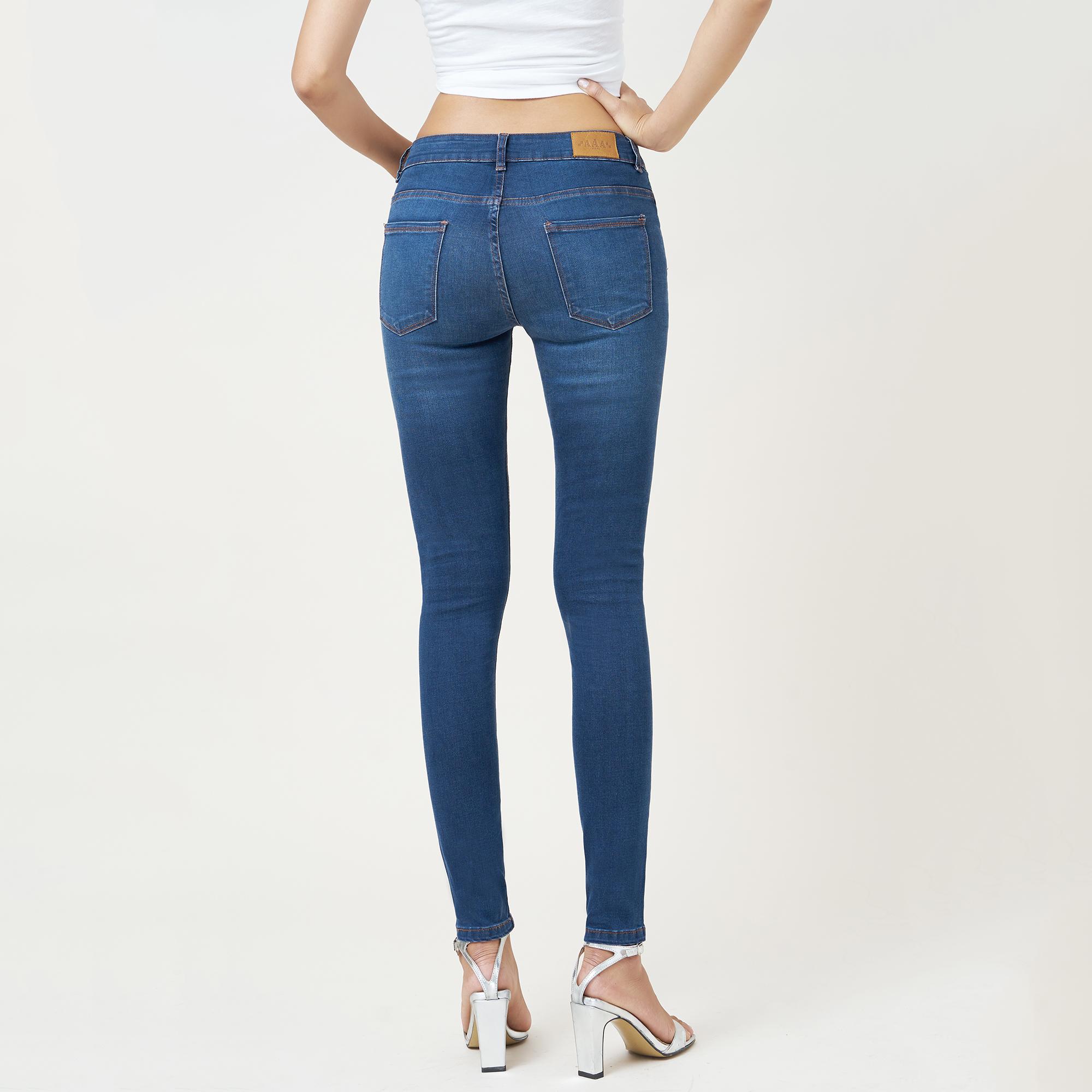 Quần Jean Nữ Skinny Lưng Vừa Aaa Jeans Có Nhiều Màu Size 26 - 32 3