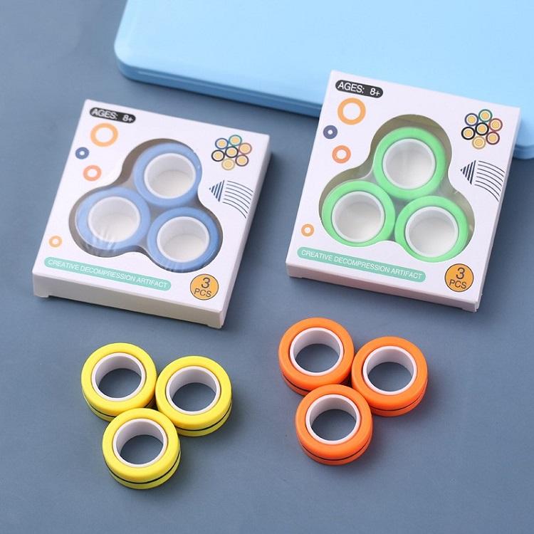 Bộ 6 cái đồ chơi spiner nam châm ( giao màu ngẫu nhiên ) 2