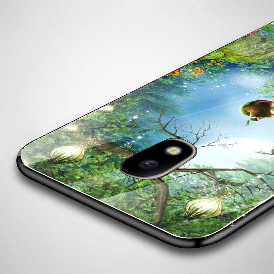 Ốp kính cường lực cho điện thoại Samsung Galaxy J3 2016/J310/J3 LTE - chim công phượng MS CPHUONG091