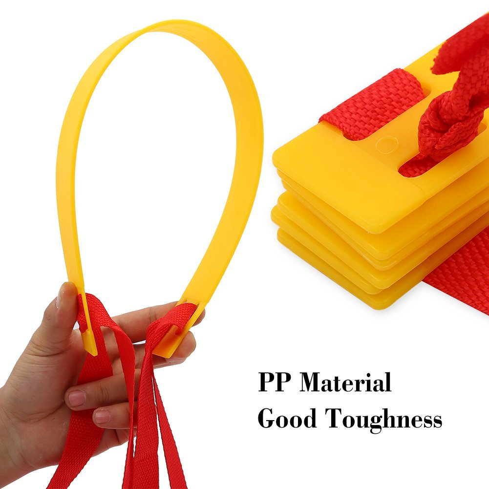 Thang dây thể thao luyện thể lực bóng đá RED Yellow, dây tập thể lực - DONGDONG 4