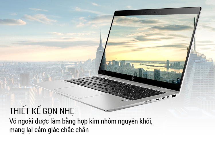 Laptop HP Elitebook x360 1030 G3 (Intel Core I5-8250U/ 8GB RAM LPDDR3/ 256GB SSD/ 13.3