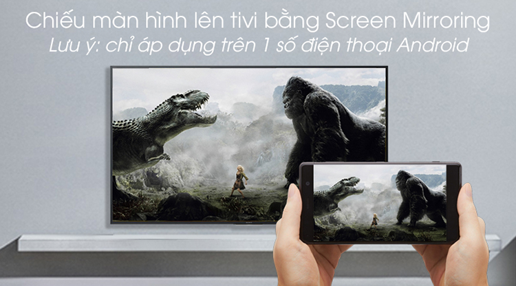Android Tivi Sony 55 inch 4K UHD KD-55X8000G