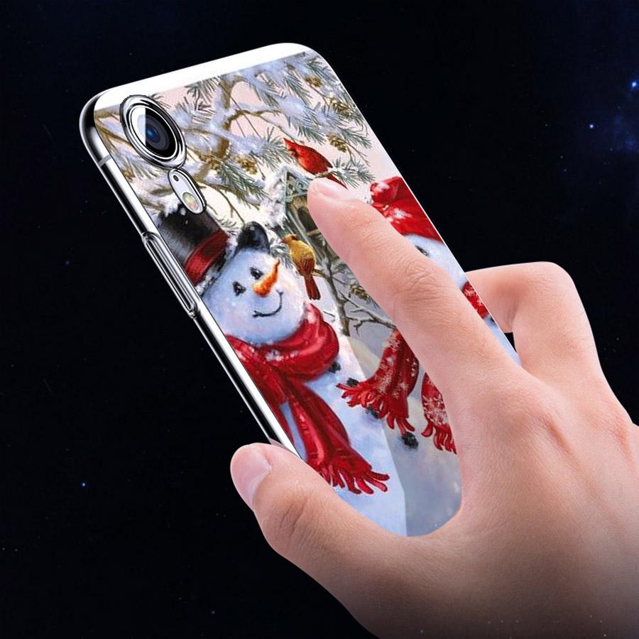 Ốp lưng cứng viền dẻo dành cho điện thoại iPhone XR - GIÁNG SINH ĐẾN RỒI MS GSDRMR015