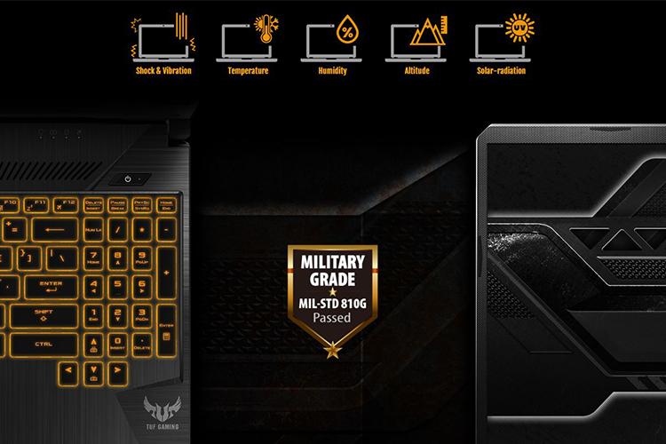Laptop Asus TUF Gaming FX504GE-EN047T Core i7-8750H/Win10 (15.6 inch) (Black) - Hàng Chính Hãng