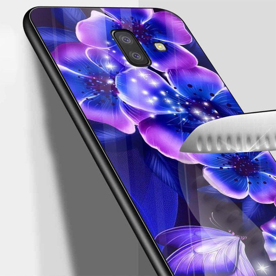 Ốp kính cường lực cho điện thoại Samsung Galaxy J4 - J6 - J6 PLUS - J6 PRIME - J8 - bướm đẹp MS ANH097