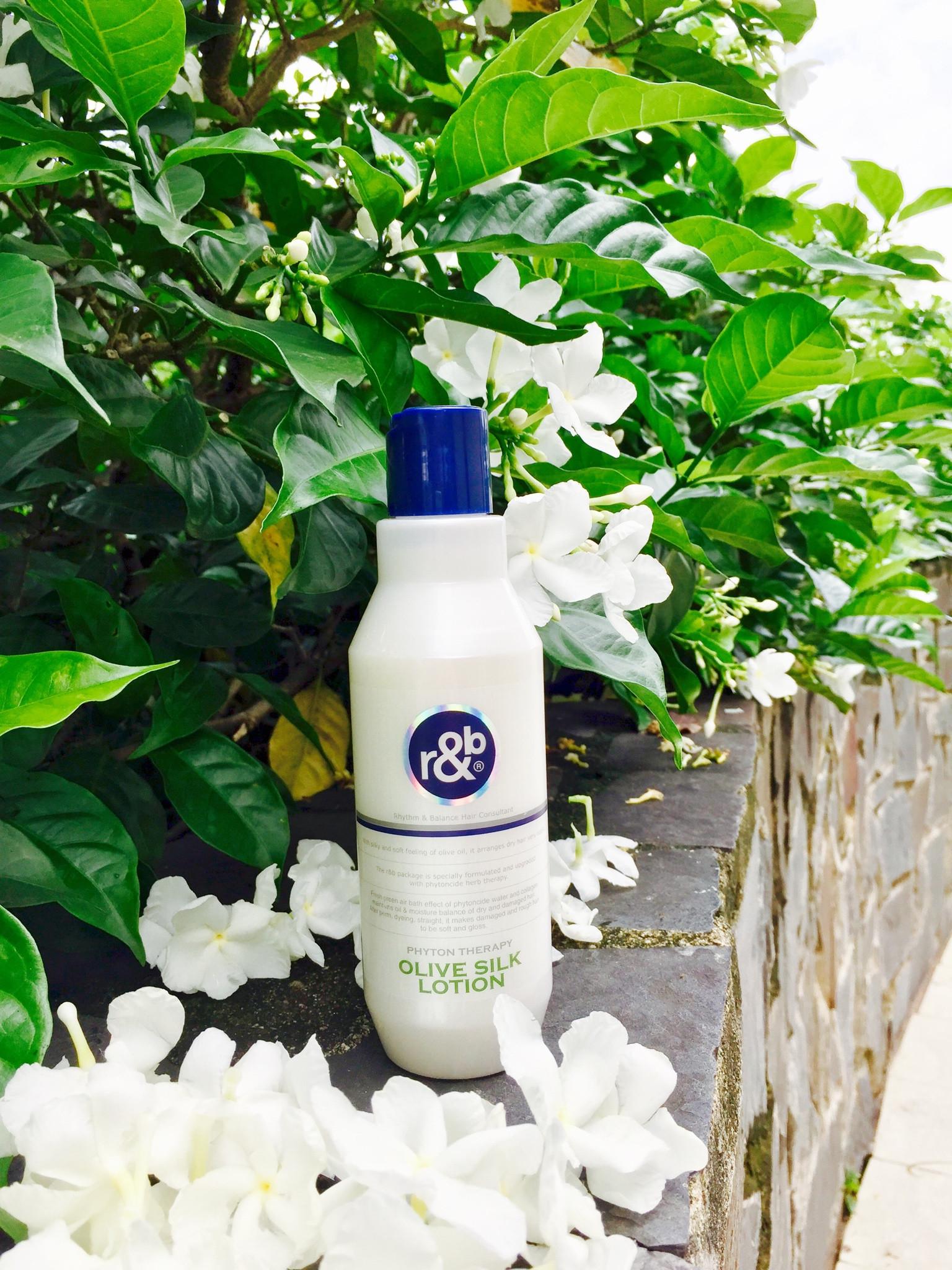 Kem dinh dưỡng bóng tóc R&B Olive Silk Lotion 250ml