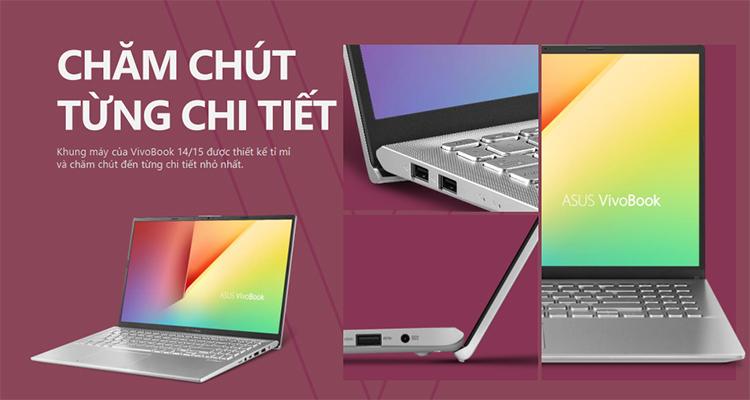 Laptop Asus Vivobook A512FL-EJ163T Core i5-8265U/MX250 2GB/Win10 (15.6 FHD) - Hàng Chính Hãng