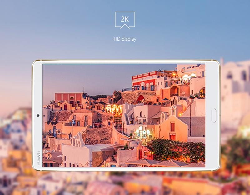 Máy Tính Bảng Huawei M5 8.4 inch Wifi 32GB Hỗ Trợ 4G Hệ Thống Âm Thanh Harman Kardon - Vàng Ánh Kim