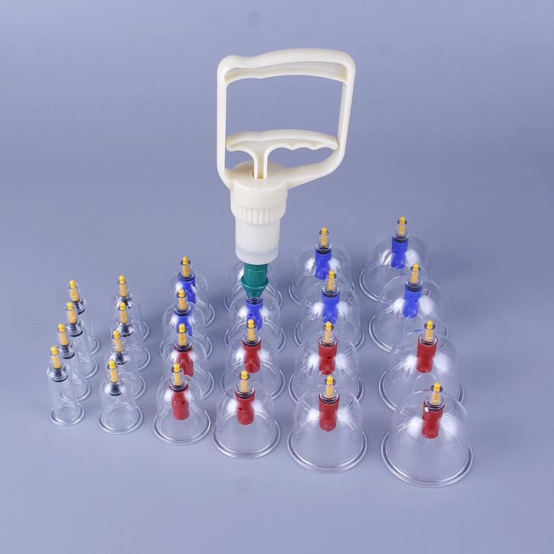 Massage toàn thân giác hơi 24 ống Bằng Nhựa Nguyên Sinh 4