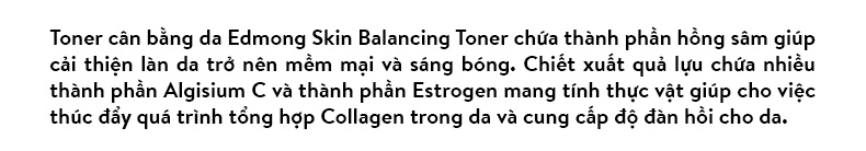 NướcHoa Hồng Dưỡng Da Da Edmong Skin Balancing Toner 130ml 1