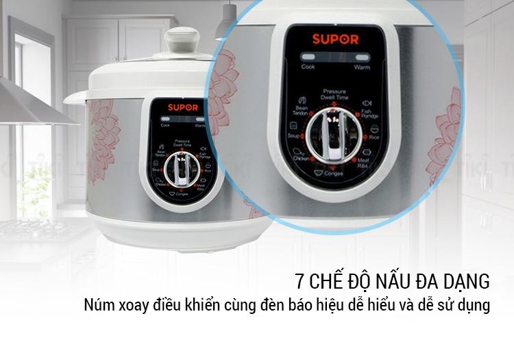 Nồi Áp Suất Điện Supor SPC50YA310VN (5.0 lít) - Hàng Chính Hãng