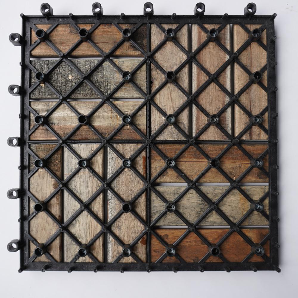 ván sàn gỗ màu đen