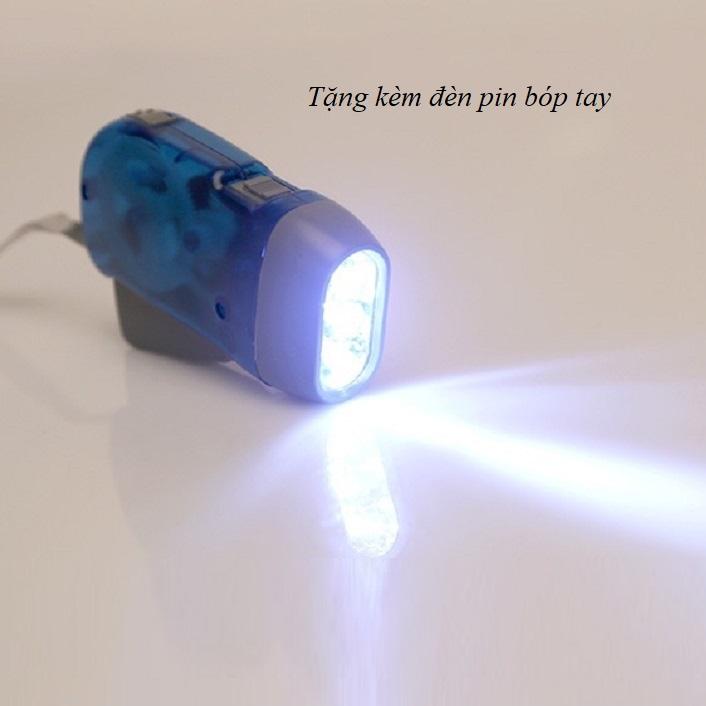 Máy tạo độ ẩm dành cho ô tô (Màu ngẫu nhiên) - tặng kèm đèn pin bóp tay 9