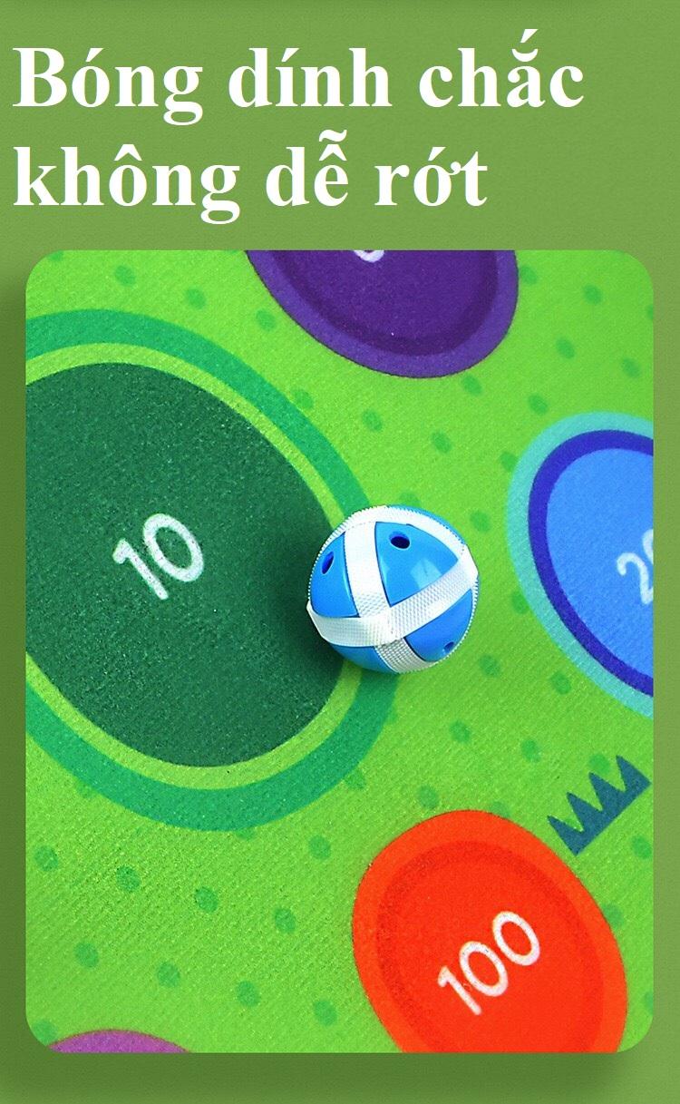 Trò Chơi Ném Bóng Dính Gấu chính hãng Mideer fun dart game BEAR 3