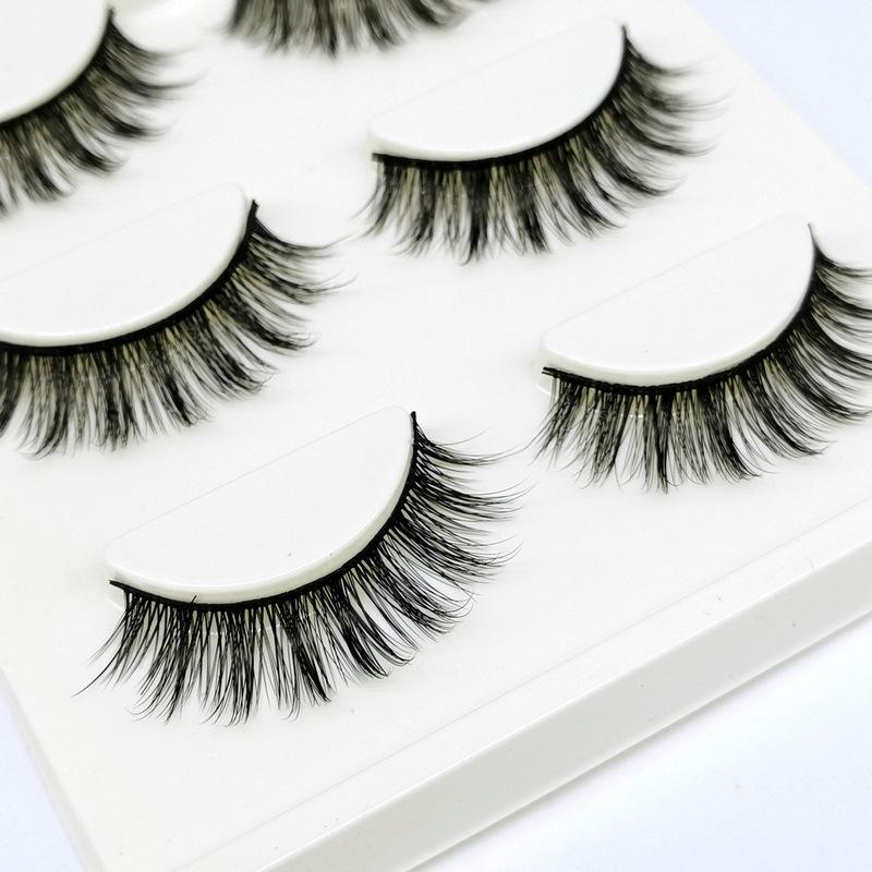 Lông mi giả lông chồn 3 Fashion Eyelashes 3 Faux-Cils 3D 1 bộ 3 cặp 95
