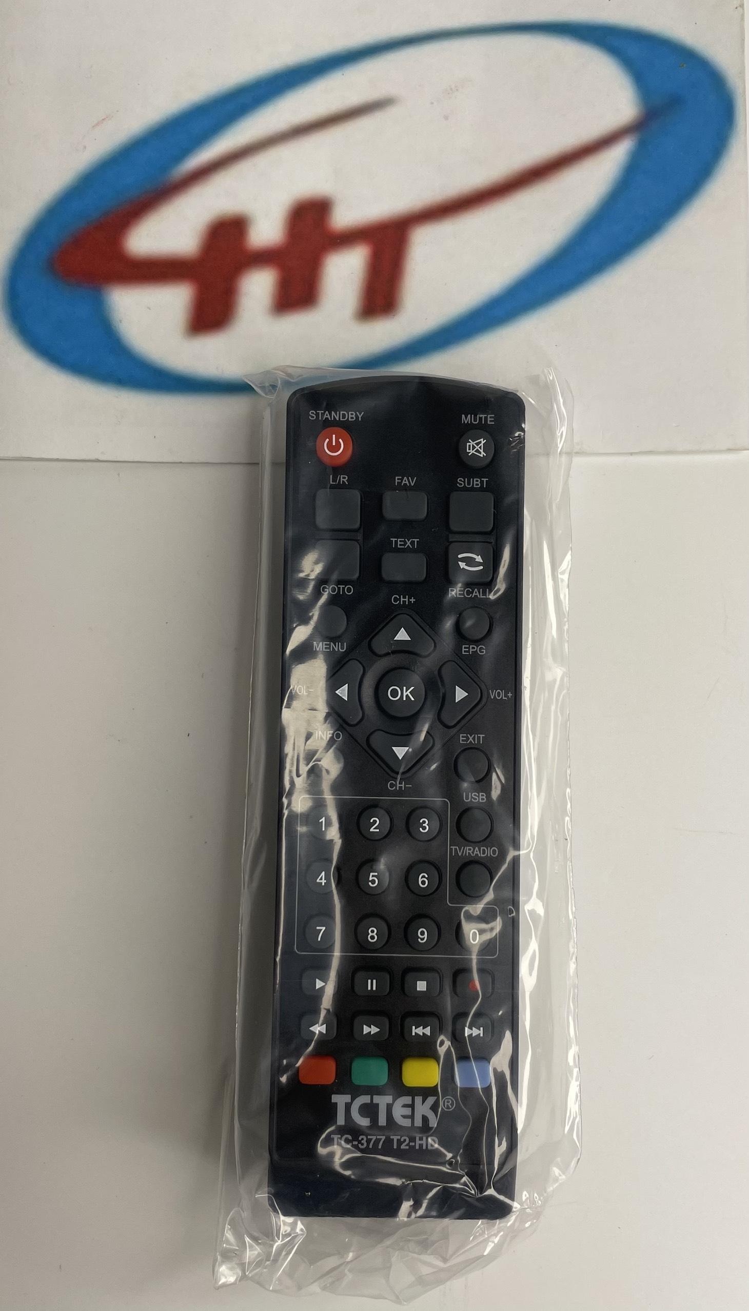 Đầu thu kỹ thuật số DVB T2 TCTEK 377,Hàng Chính Hãng. 3