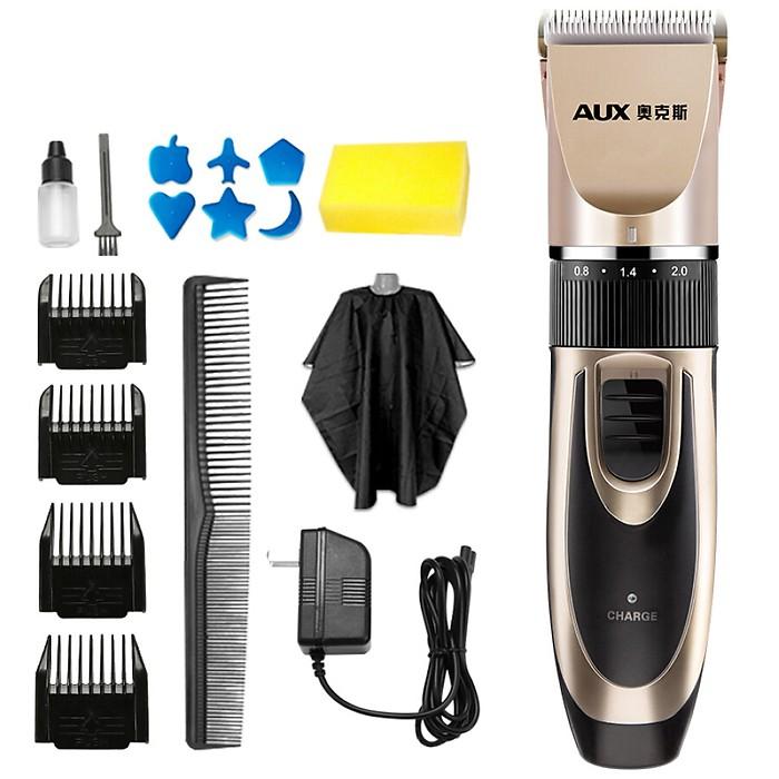 Aux (AUX) hair clipper hair clipper baby adult razor hair clipper child electric hair clipper mute rechargeable hair clipper hair clipper X1