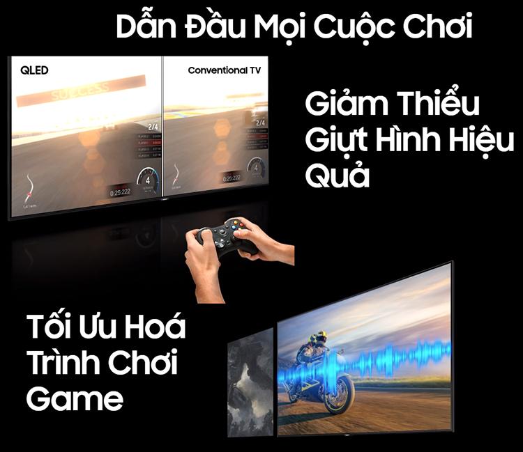 Smart Tivi QLED Samsung 82 inch 4K UHD QA82Q65RAKXXV
