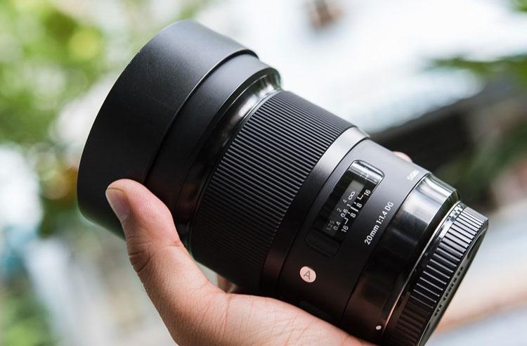 Ống Kính Sigma 20 F/1.4 DG HSM Art For Nikon - Hàng Chính Hãng