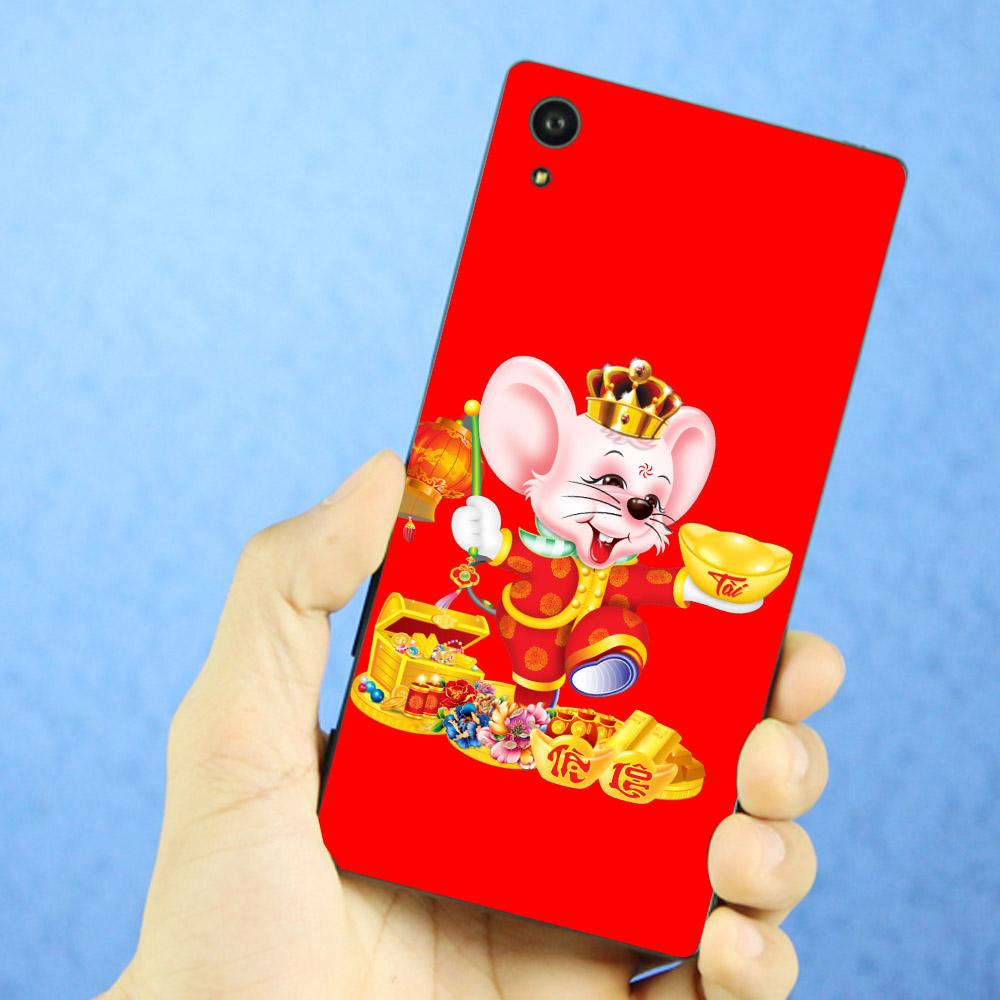 Ốp điện thoại dành cho máy Sony Xperia XA1 - Chuột chúc tết mã 11 MS CCTM11