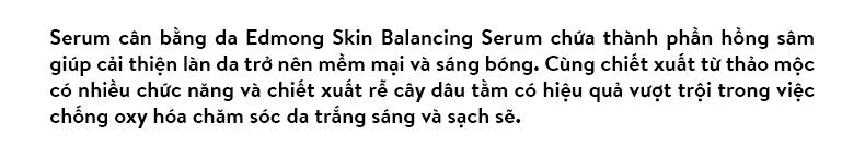 Tinh Chất Dưỡng Ẩm Edmong Skin Balancing Serum 45ml 2