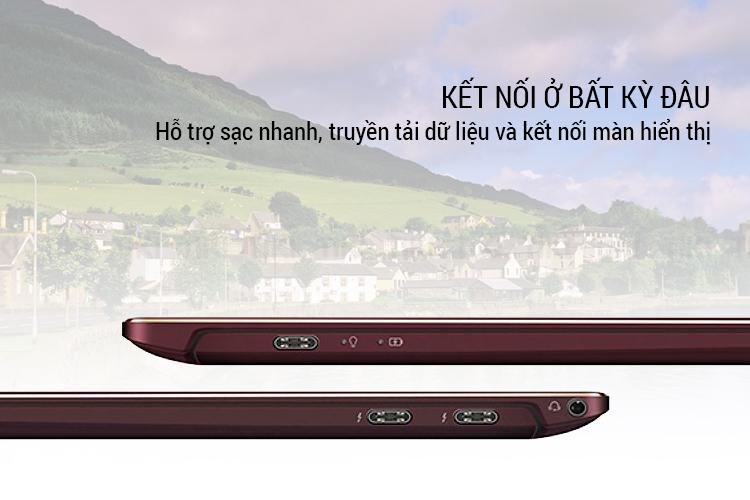 "Laptop Asus Zenbook S UX391UA-ET081T Core i7-8550U/Win 10 (13.3"" FHD IPS, 100% sRGB) - Hàng Chính Hãng"