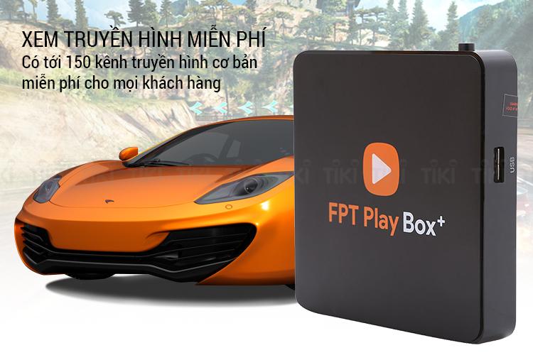 FPT Play Box + 4K 2019 - Hàng Chính Hãng