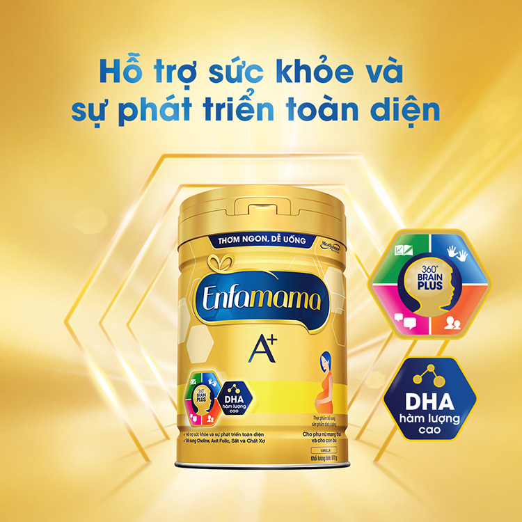 Sữa Bầu Enfamama A+ (870g) - Hương Vani