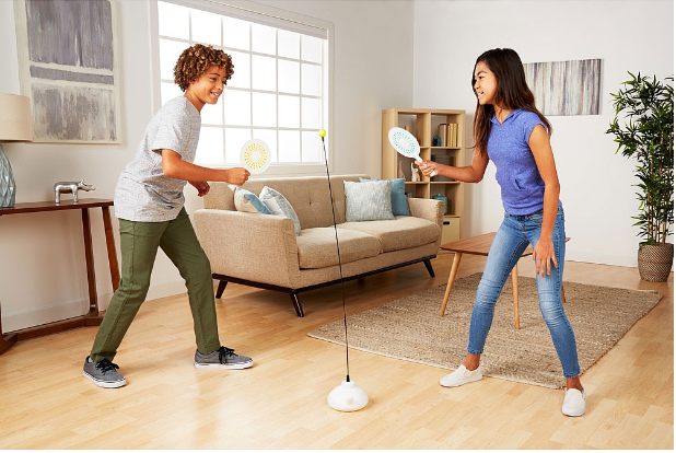 Bộ chơi bóng bàn một mình hoặc 2 người tại nhà, 3 bóng, tặng 1 dây đàn hồi 2