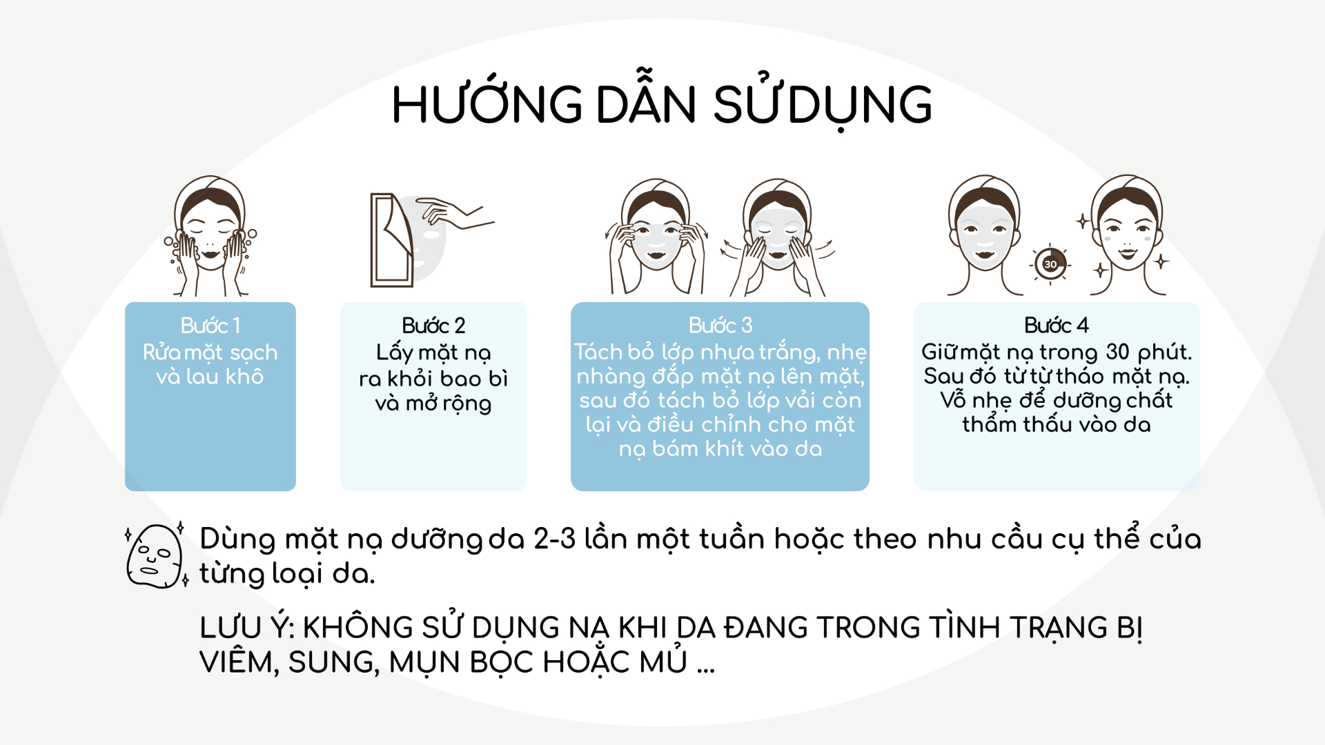 MiungLab - Mặt Nạ Dưỡng Da Hàn Quốc (Lẻ 1 Miếng Nạ)  Chăm sóc cơ thể
