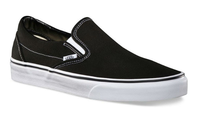Giày Slip On Unisex Vans VN000EYEBLK - Black