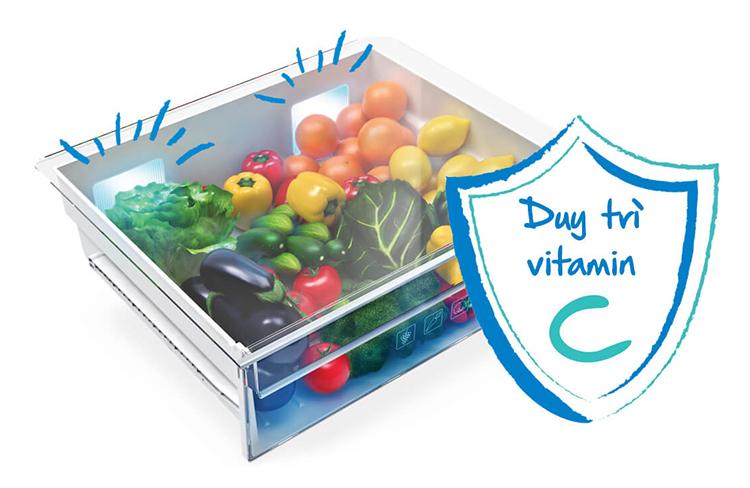 Tủ Lạnh Inverter Beko RDNT340I50VZWB (296L) (Đen) - Hàng chính hãng