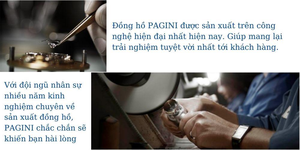 Đồng hồ nam PAGINI PA5533W dây thép không gỉ - Lịch ngày cao cấp 11