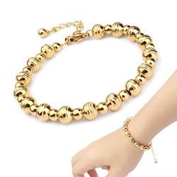 lắc tay bi mạ vàng