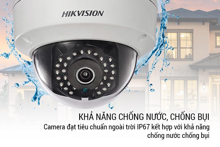 Camera IP Wifi HIKVISION DS-2CD2121G0-IWS 2.0 Megapixel – Hàng Nhập Khẩu